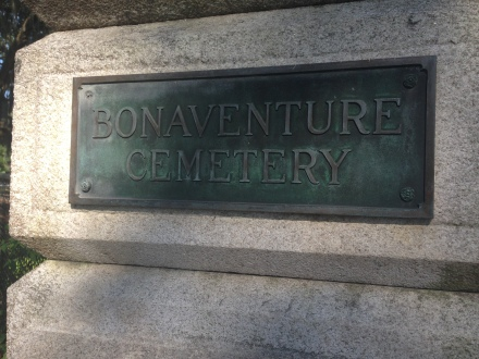 From the Road I'm On - Bonaventure Cemetery