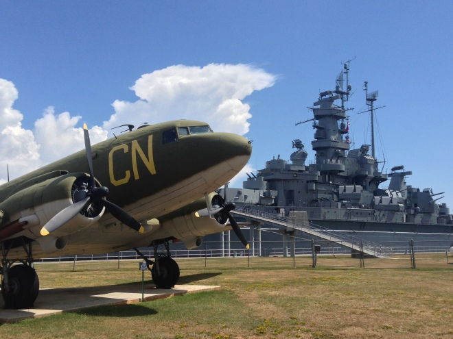 11 Best Views from on the Road in the South - USS Alabama Battleship Memorial Park, Alabama via From the Road I'm On